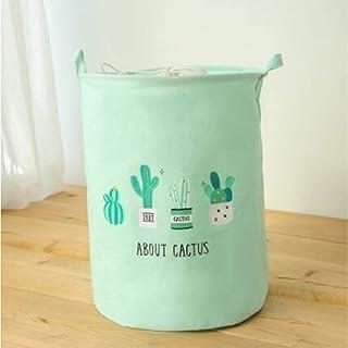 MJY Panier à linge, corbeille à linge étanche Cactus pliage vêtements paniers de rangement paniers de rangement baril enfa...