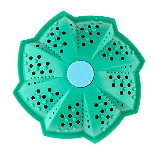 Eco Waschball, Bio Waschkugel für Waschmaschine, 10cm| Bis zu 1500 Wäschen!| Natürlichem Mineral & Umweltfreundlich| Wäscht ohne Waschmittel, Waschmittelersatz| Hypoallergen ideal für Allergiker.