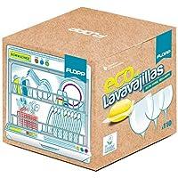 FLOPP - Lavavajillas Ecológico,   Cápsulas Lavavajillas Eco Brillo Envase Biodegradable (110 capsulas)