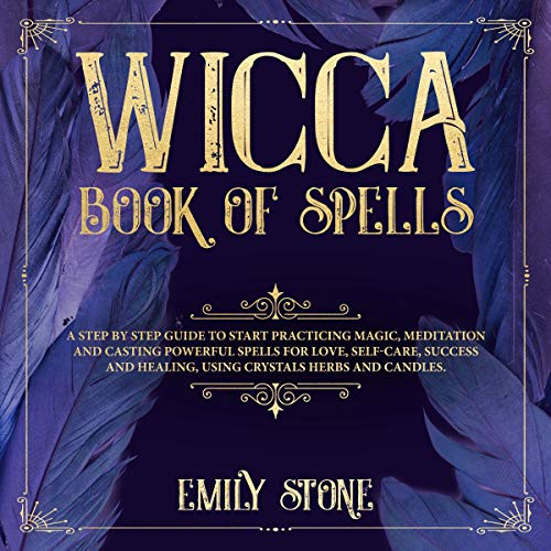 Wicca Book of Spells audiobook cover art