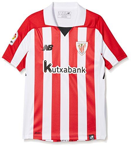 New Balance ACB Camiseta 1ª equipación Athletic Club, Niños, Blanco, 146