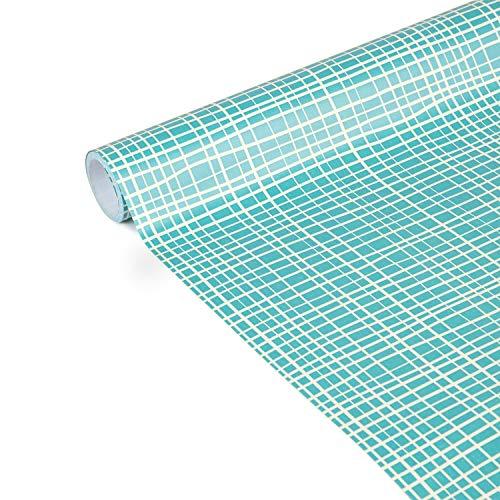 Clairefontaine 223870C Tiny Rolls - Rollo de papel de regalo (5 m x 35 cm, 80 g), diseño de líneas