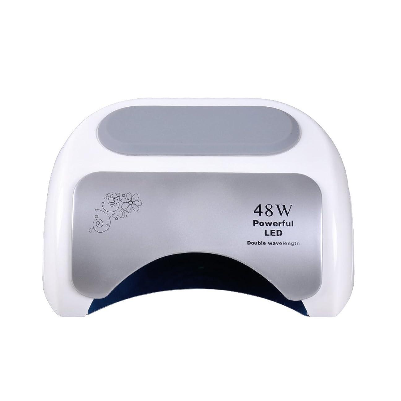 提供された教育者教育者Nananail 48Wネイルドライヤー CCFL+ LEDネイルランプ 時間設定10s/30s/60s 速乾性 自動センサー付き