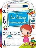 J'écris, j'efface et je recommence: Les lettres minuscules - Dès 4 ans