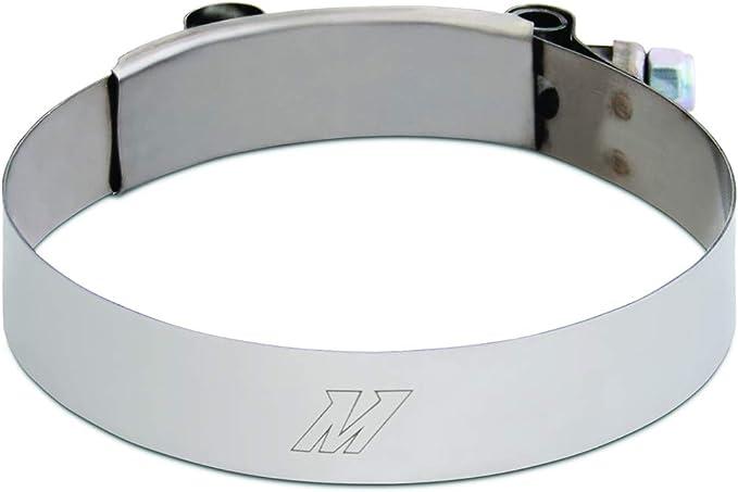 Durchmesser 6,35/cm 2,5/Zoll Mishimoto MMCLAMP-25 T-B/ügelschelle aus Edelstahl