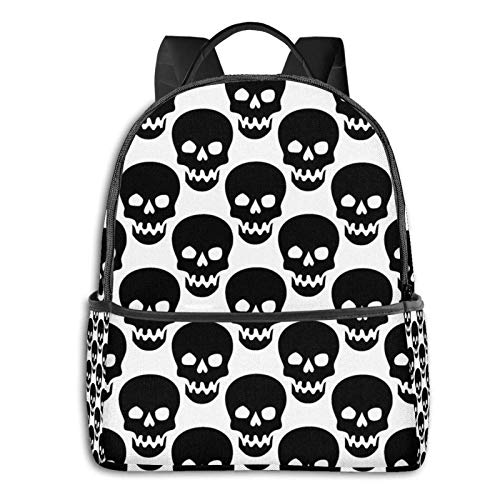 XCNGG Students Backpack Extra Large Book Bags Anti Theft Rucksack for High School, College, Multipurpose Yin Yang Black and White Sleepy Cat Laptop Backpack