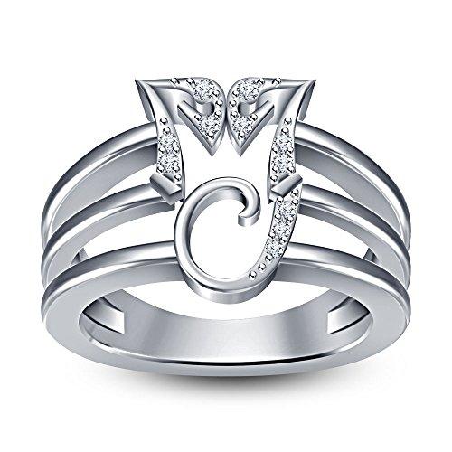 Vorra Fashion Damen - 925 Sterling-Silber Silber Oxyde de Zirconium