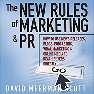 The New Rules of Marketing & PR cover art