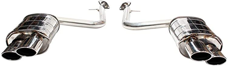 Invidia HS14LRCDR4OS Back Exhaust 15+ Lexus Rc350/200T Stainless Steel Quad Rolled Tip Axle
