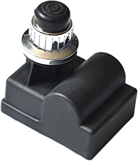Onlyfire 14451 Universal Electric Silver Push Button Igniter BBQ Replacement for Gas Grill by Char-Broil, Brinkmann, Grillmaster, Kenmore, Nexgrill, Brinkmann, Grillware, Jenn Air, and Others