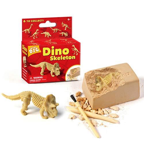 DSYYF Kit de Juguetes educativos para niños, Kit de Juguetes de excavación de Rompecabezas arqueológico Juguetes de pingüinos 4 Piezas, Juego Educativo, Juguetes de Bricolaje para niños,E