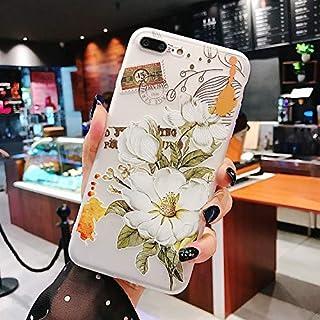 Truda Carllyl Iphone Xs Maxの携帯電話ケース、フルカバーデザインのTpuソフトバックカバー、そして耐衝撃機能 (Color : White)