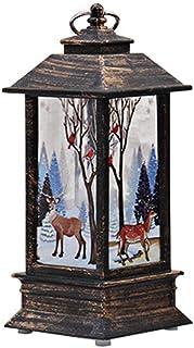 LED Vela Adornos Navidad Originales Rusticos Vintage Decoracion Mesa Casa