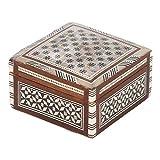 Casa Moro | caja de joyería oriental barka con incrustaciones de madreperlaperfecto | SD1
