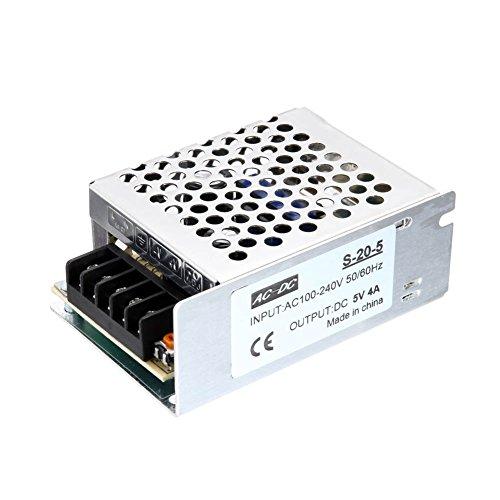 Harwls - Adaptador de alimentación de interruptor de alimentación para transformador de...