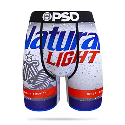 PSD Herren Box – Natty Light, Herren, Unterwäsche, Box - Natty Light, blau, Medium