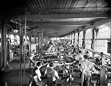 Cash Register Factory Nthe Assembly Room Of The National Cash Register Plant In Dayton Ohio Photographed By William Henry Jackson C1902 Poster Print by (24 x 36)