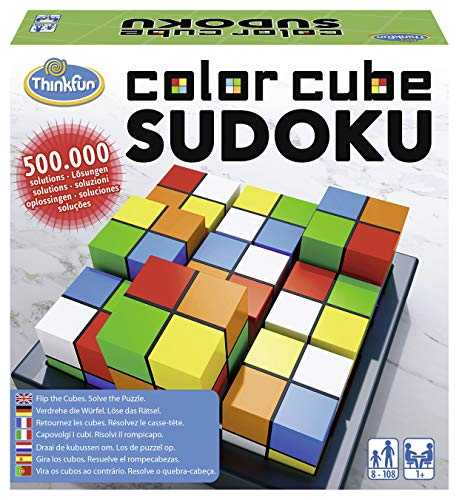 ThinkFun 76342 - Color Cube Sudoku