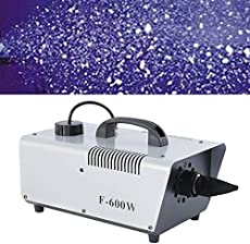 Tengchang 600W Snow Machine Snowflake Maker Flake Effect for Christmas Party Stage Show DJ Wireless Control