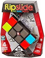 Flipslide Game, Electronic Handheld Game | Flip, Slide, and Match the Colors to Beat the Clock - 4 Game Modes -...