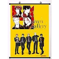 アニメスクロールポスタータワーレコードウォールアート防水リール家の装飾ギフトを集める 19.7x29.5inch/50x75cm