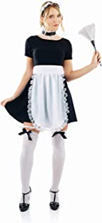 fun shack Women's French Maid Kit Adult Costume, French Maid Kit