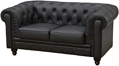 Adec - Chesterfield, Sofa de Tres plazas, Sillon Descanso 3 ...