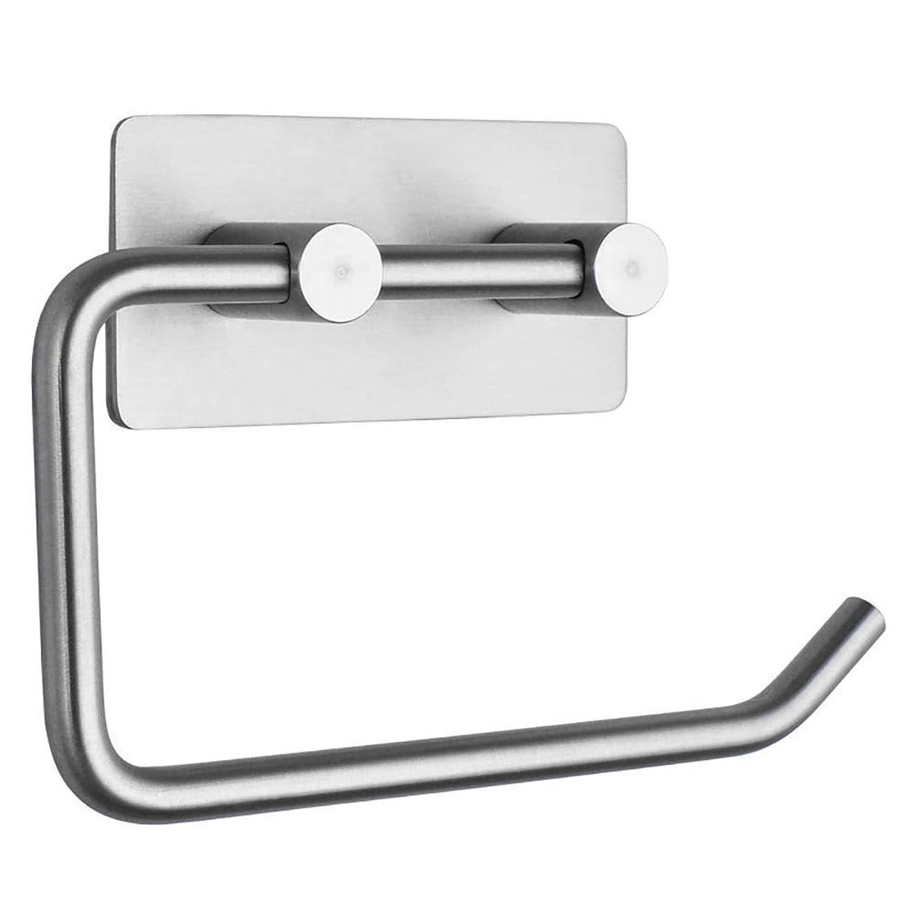 哲学代わりのアーサーコナンドイルトイレットペーパーホルダーブラシニッケルは、304のステンレス鋼のトイレットペーパーロールホルダーハンガーなし掘削ウォールは浴室台所用マウント CT55CT (Size : StyleB)