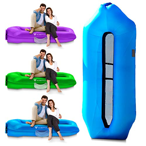 IceFox Version Inflatable Lounger Air Sofa Now $23.99