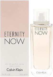 ĆK Eternity Now women Eau De Parfum Spray 3.4 OZ. Oz/ 100 ml