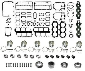 Buy Discount Powerhead Rebuild Kit Johnson & Evinrude V6 150-200hp, 1976-1984