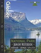 Glacier National Park Junior Notebook: Wide Ruled Adventure Notebook for Kids and Junior Rangers