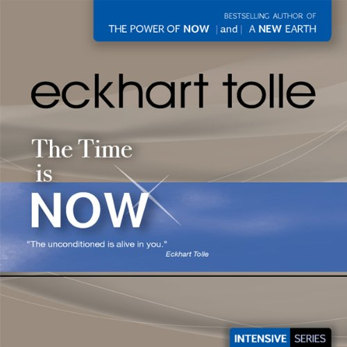 The Time Is Now audiobook cover art