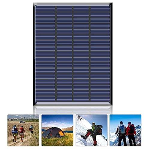 Gmasuber 2,5 W 18 V solpanelsladdare bärbar epoxibatteriladdare för telefon DIY solbatteriladdare Soalr panelbräda