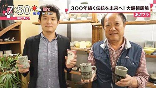 大堀相馬焼松永窯二重徳利(二合)・二重ぐい呑み2個酒器揃えセット