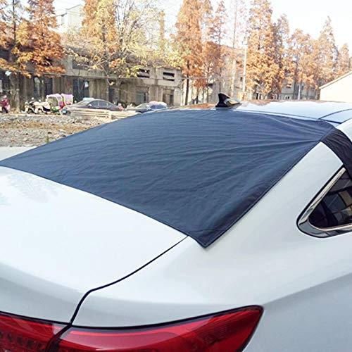 Auto Scheibenabdeckung, Frontscheibe Magnetische Frostabdeckung Autoscheiben-Abdeckung abdecken Winterabdeckung Hitzeschutz UV-Schutz Sonnenblende, Heckscheibenabdeckung Schneeblocker Autoabdeckung