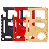 Cool Unusual Gadgets Gifts for Men 11-in-1 Wallet Multitool Tool All in One EDC tools (3 color 11-in-one)