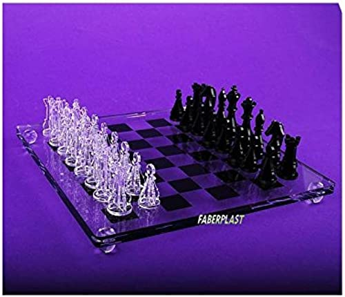 faberplast Schach von Polymethylmethacrylat Mini (FB724)