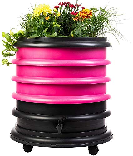 Why Choose WormBox WB31FU Wormery Composter 3 Fuchsia Plus Planter-56 litres, 3 Trays + Planter