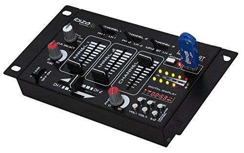 Lotronic DJ21USB-BT Mischpult Bluetooth USB