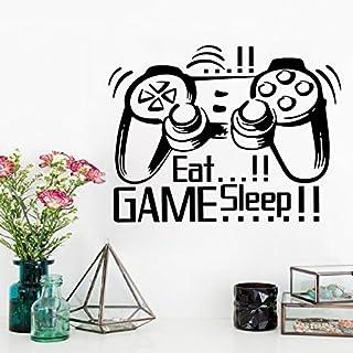 ملصق جداري للألعاب قابل للإزالة ومقاوم للماء لغرفة النوم وغرفة المعيشة وغرفة الجلوس والحمام والمكتب