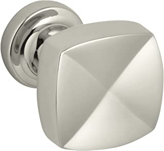 KOHLER K-16262-SN Margaux 1-1/4-Inch Knob, Vibrant Polished Nickel