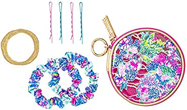 Lilly Pulitzer Resort Sport Hair Tie Kit Beach You To It One Size