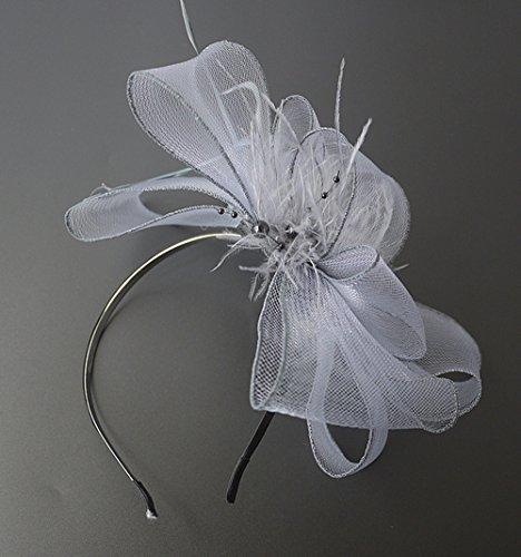 Olici MDRW Bruiloft balzaal haarspeld haarsieraad Halloween gaas veerhoofdversiering hoofdtooi haar Hoop Classic Dress paard Halloween hoofddeksel