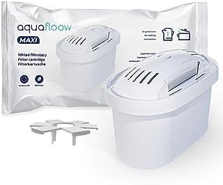 Wessper Cartouche Filtrante Compatible avec Brita Maxtra+, AmazonBasics - Pack 4