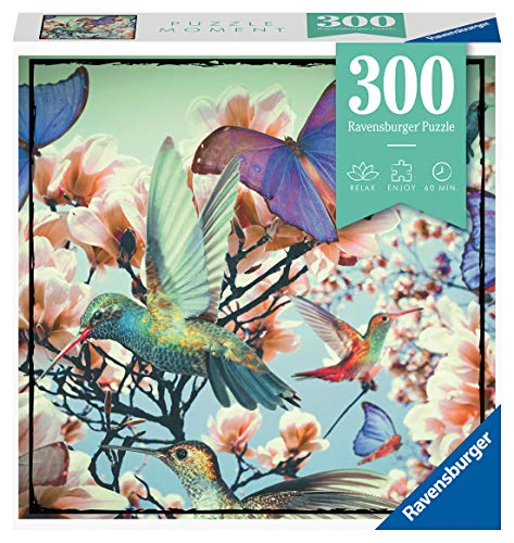 Ravensburger 12969 Puzzle Hummingbird para adultos y niños a partir de 14 años, 300 piezas