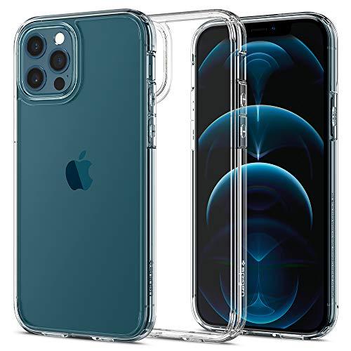 Spigen Ultra Hybrid Designed for Apple iPhone 12 Case (2020) / Designed for iPhone 12 Pro Case (2020) - Crystal Clear