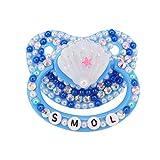 TEN@Night - Chupete de silicona para adultos, color azul