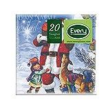 Every E243-D207 Tissue Tovagliolo, Carta, Fantasia, 24x24x0.54 cm, 20 unità