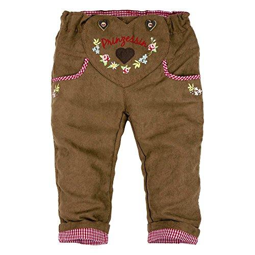 BONDI Kunstleder Hose ´Alpenglück´, light brown 116 Tracht Baby Mädchen Artikel-Nr.85816